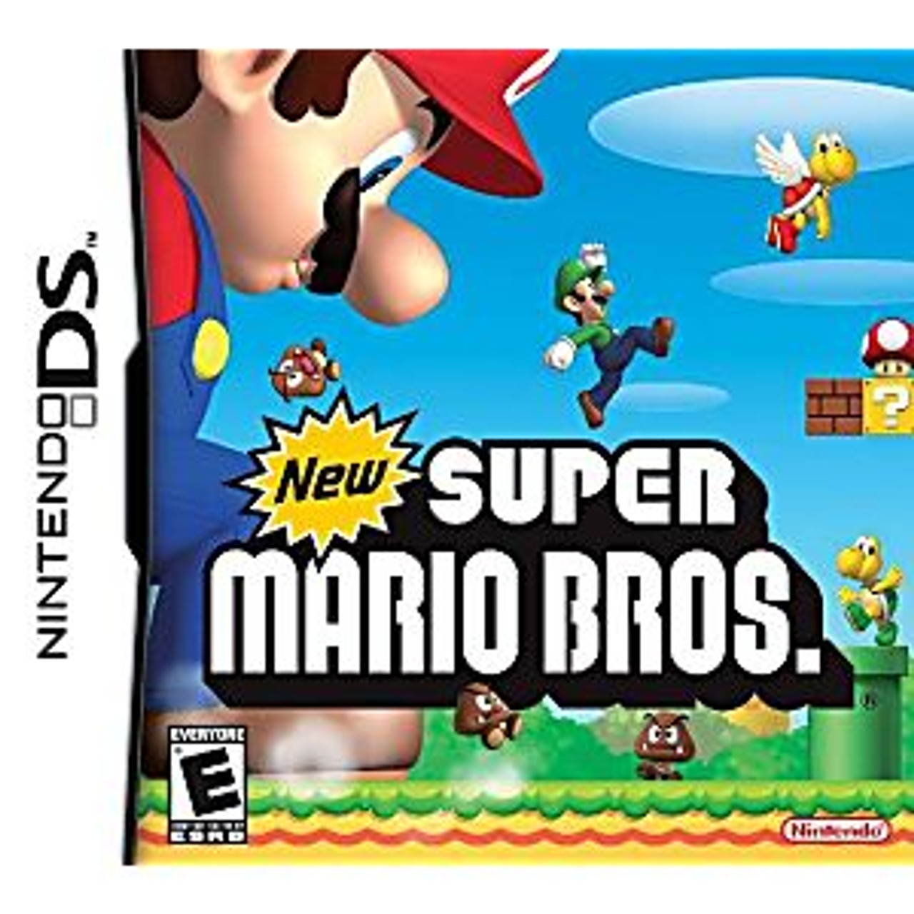 NEW SUPER MARIO BROTHERS [E] - NDS