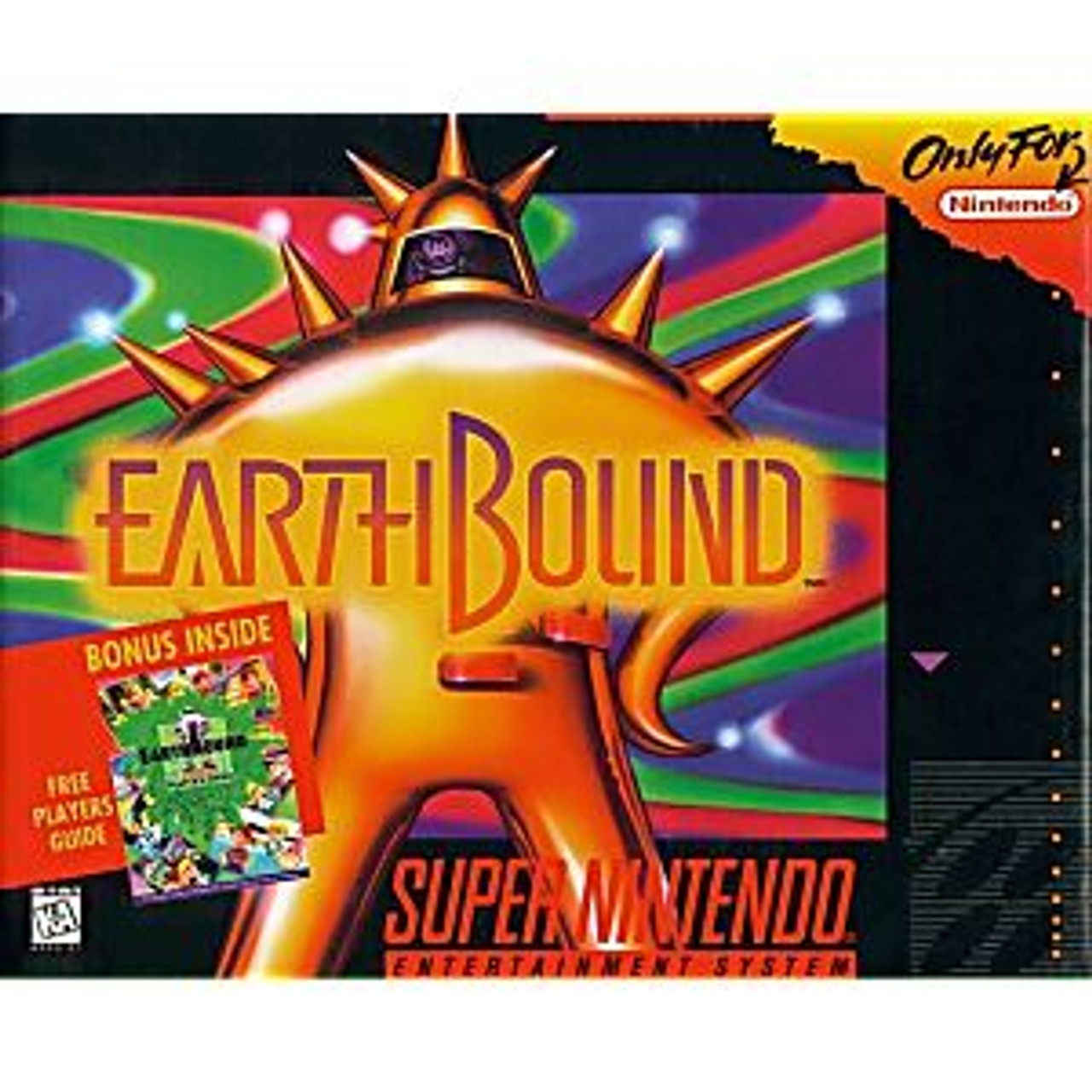 9. EARTHBOUND - SNES