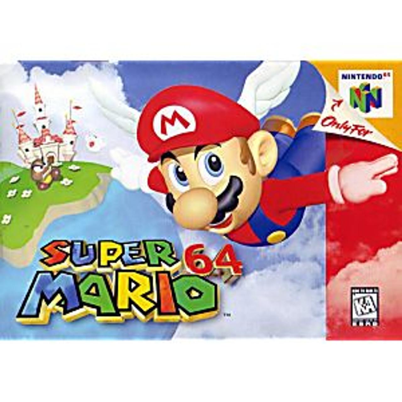 2. SUPER MARIO 64 - N64