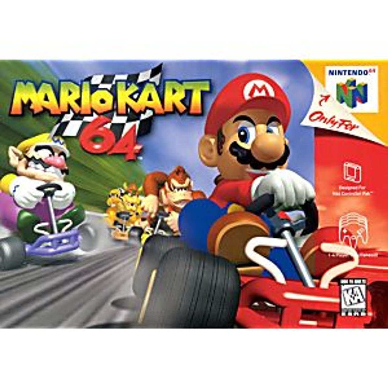 5. MARIO KART 64 - N64