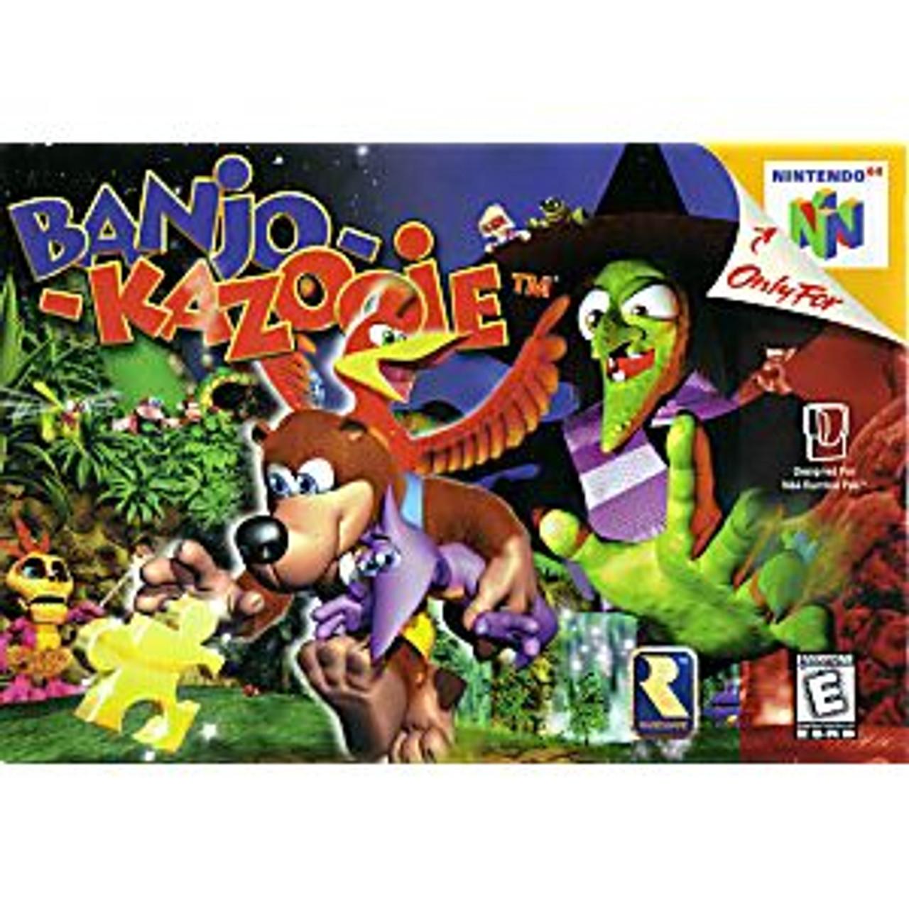 BANJO KAZOOIE - N64