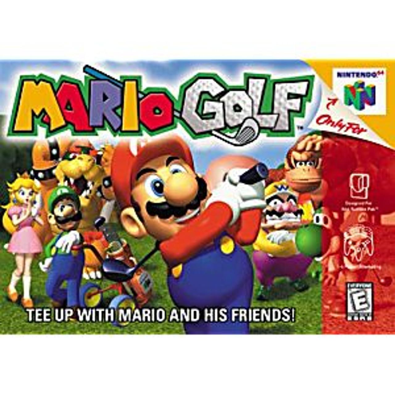 MARIO GOLF [E] - N64