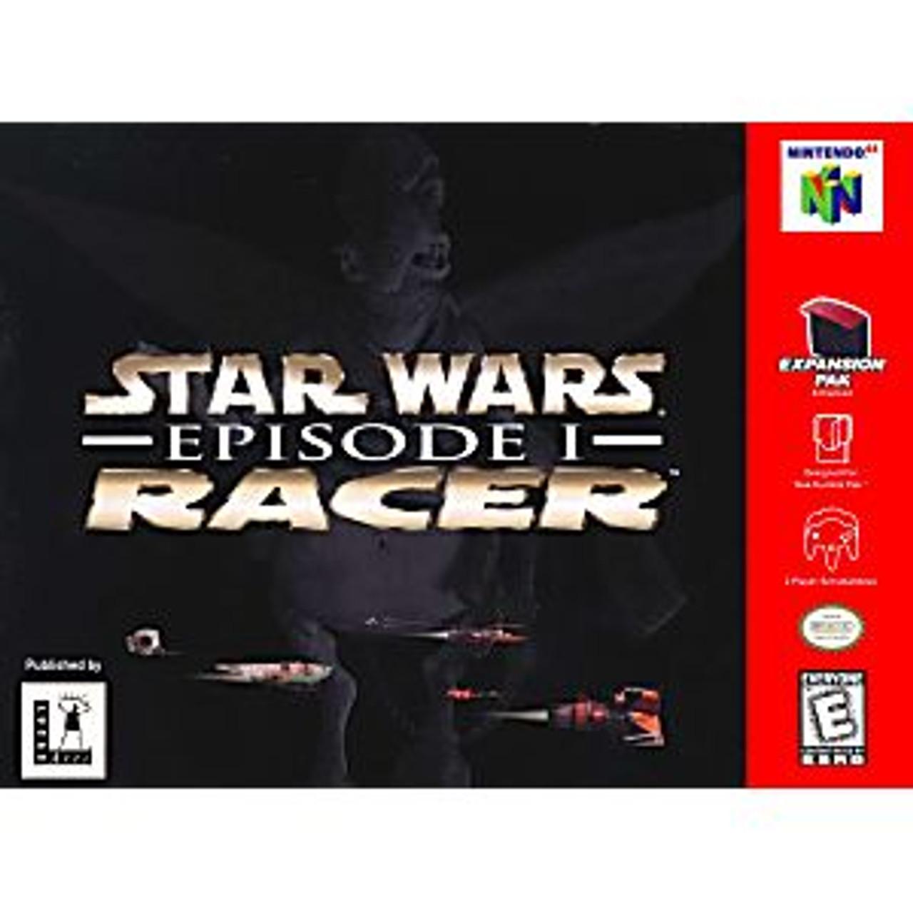 STAR WARS EPISODE 1 RACER - N64