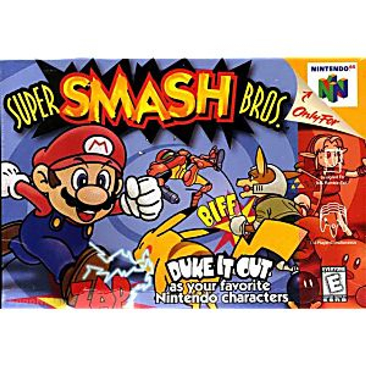 3. SUPER SMASH BROTHERS - N64