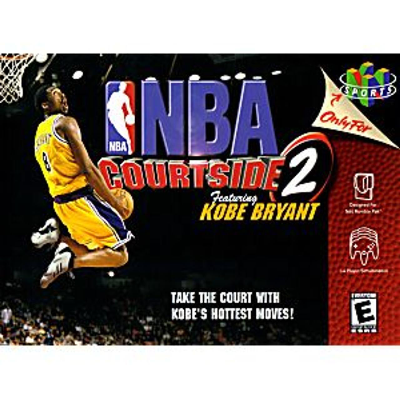 NBA COURTSIDE 2 - N64