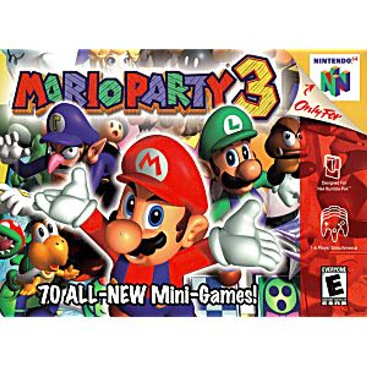 MARIO PARTY 3 - N64