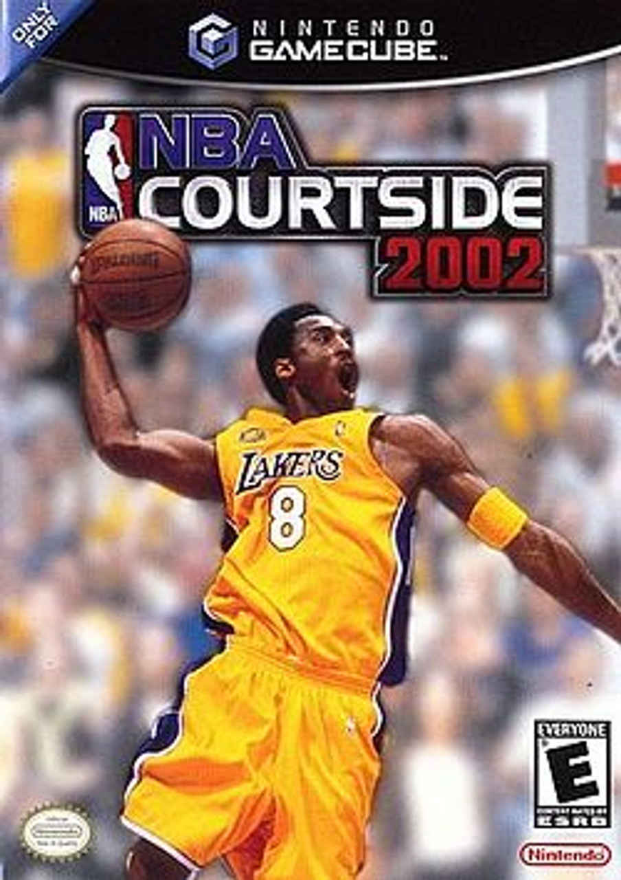 NBA COURTSIDE 2002 - GAMECUBE