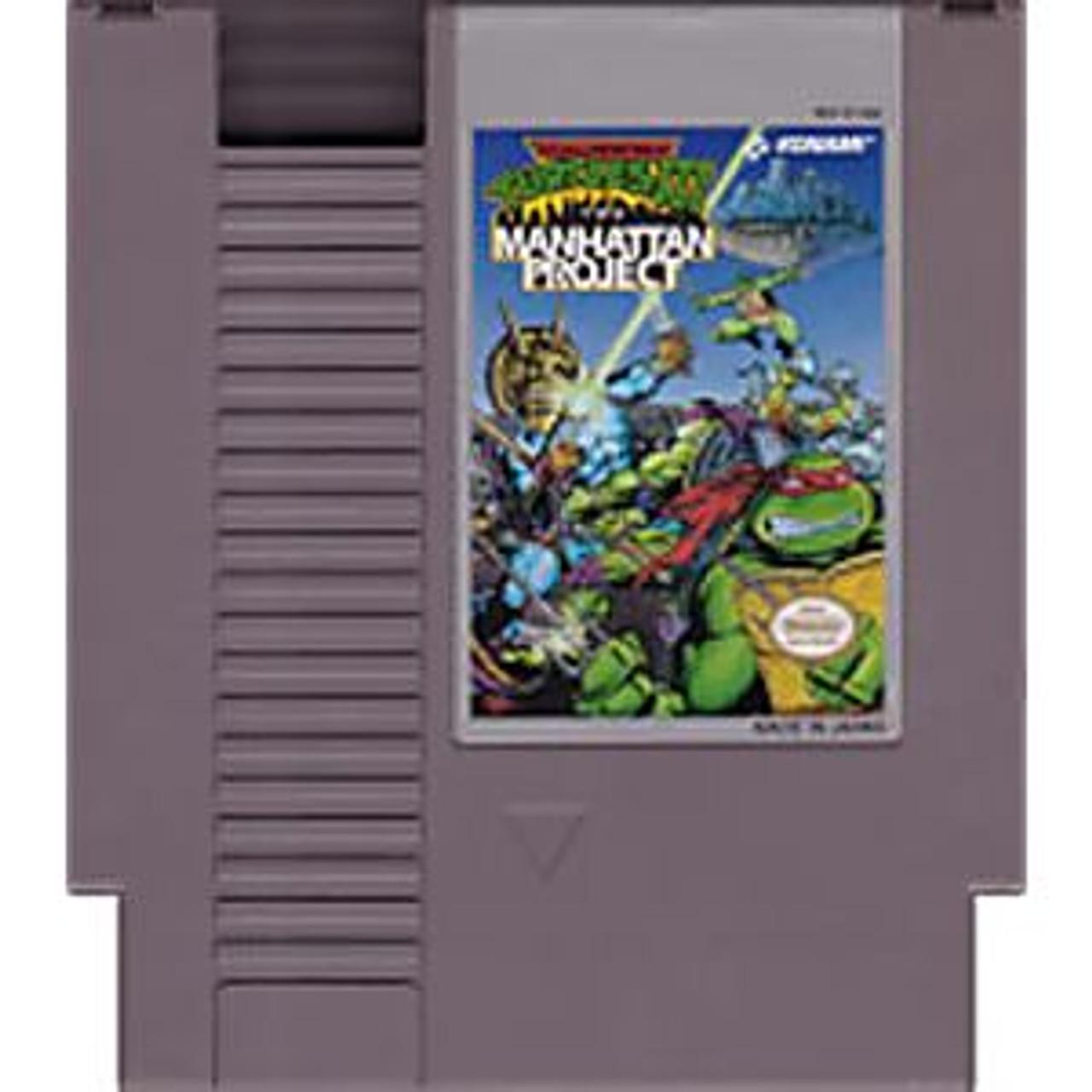 TMNT III THE MANHATTAN PROJECT - NES