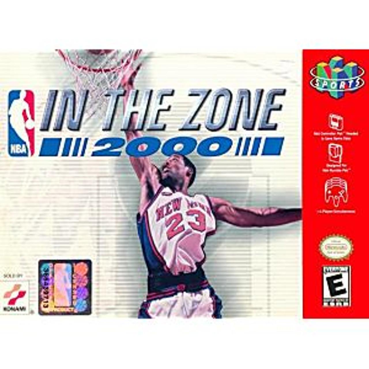NBA IN THE ZONE 2000  - N64