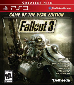 FALLOUT 3 GAME OF THE YEAR EDITION  - PS3