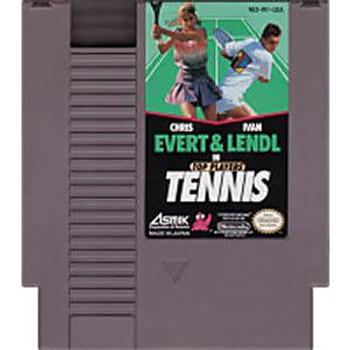 TOP PLAYERS TENNIS - NES