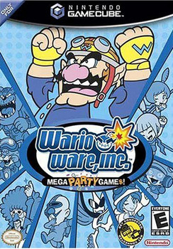 WARIO WARE MEGA PARTY GAMES - GAMECUBE