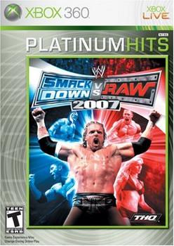 WWE SMACKDOWN VS. RAW 2007  - XBOX 360
