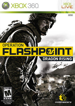 OPERATION FLASHPOINT: DRAGON RISING  - XBOX 360
