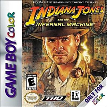 INDIANA JONES INFERNAL MACHINE - GBC