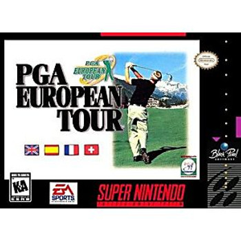 PGA EUROPEAN TOUR  - SNES