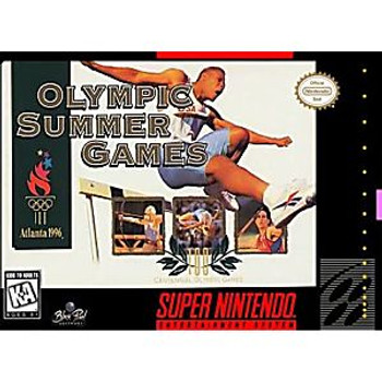 OLYMPIC SUMMER GAMES - SNES