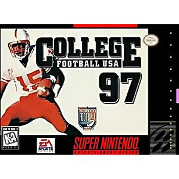 COLLEGE FOOTBALL 97 - SNES