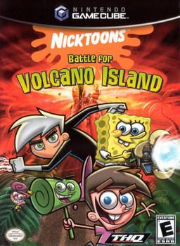 NICKTOONS BATTLE FOR VOLCANO ISLAND - GAMECUBE