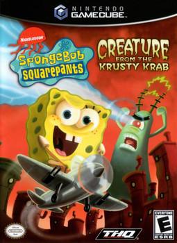 SPONGEBOB CREATURE FROM THE KRUSTY KRAB  - GAMECUBE
