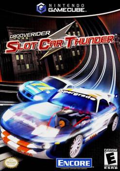 GROOVERIDER SLOT CAR THUNDER  - GAMECUBE