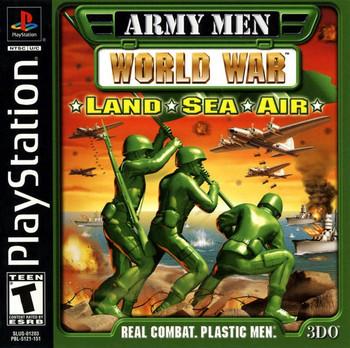 ARMY MEN WORLD WAR LAND SEA AIR