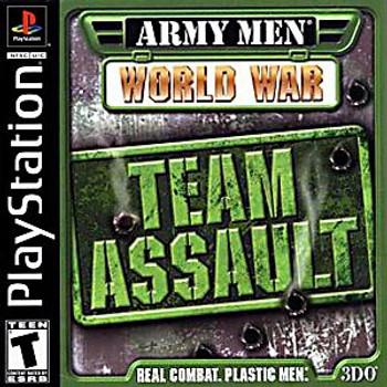 ARMY MEN WORLD WAR TEAM ASSAULT [T]