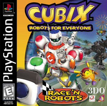 CUBIX ROBOTS FOR EVERYONE RACE N ROBOTS
