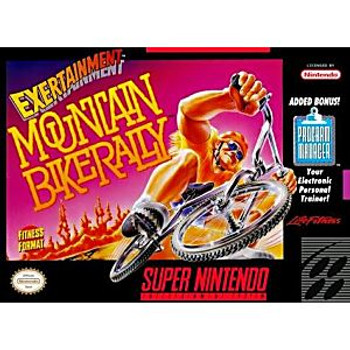 EXERTAINMENT MOUNTAIN BIKE RALLY - SNES