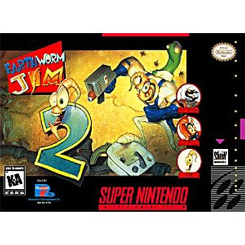 EARTHWORM JIM 2  - SNES