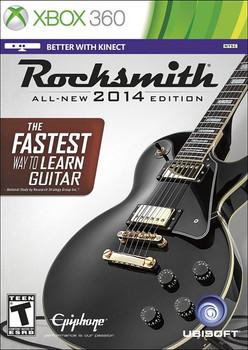 ROCKSMITH 2014 NO CABLE   - XBOX 360
