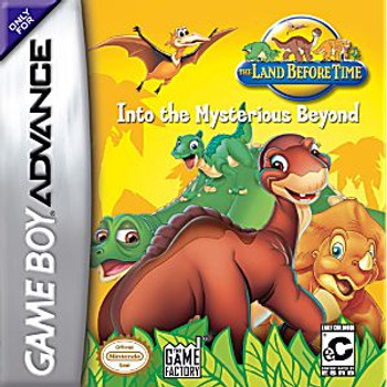 LAND BEFORE TIME INTO THE MYSTERIOUS BEYOND