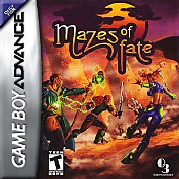 MAZES OF FATE - GBA