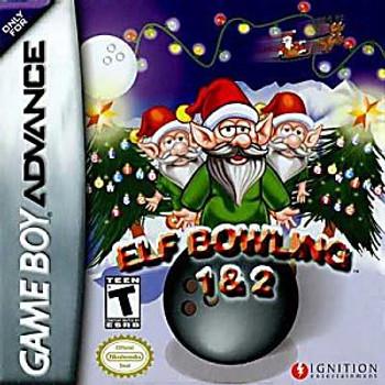 ELF BOWLING 1   2 - GBA