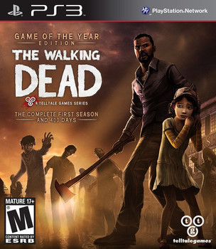 WALKING DEAD: GAME OF THE YEAR  - PS3