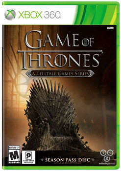 GAME OF THRONES TELLTALE GAMES  - XBOX 360