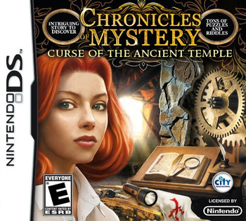 CHRONICLES OF MYSTERY: CURSE OF THE ANCIENT TEMPLE - DS