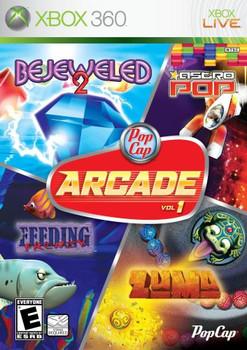 POPCAP ARCADE VOL. 1  - XBOX 360