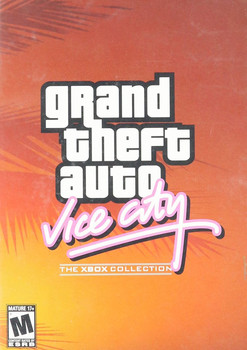 GRAND THEFT AUTO VICE CITY  - XBOX