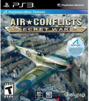 AIR CONFLICTS: SECRET WARS - PS3