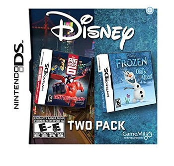 Big Hero 6/ Frozen Olafs Quest - DS
