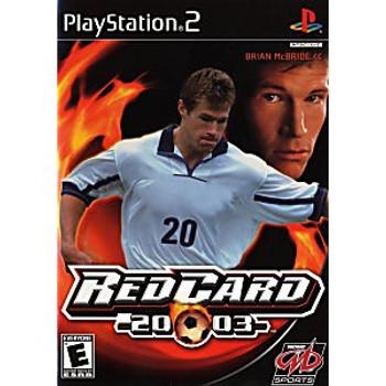 RED CARD SOCCER 2003 - PS2
