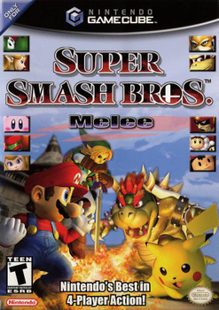 SUPER SMASH BROTHERS MELEE  - GAMECUBE