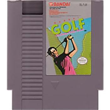 BANDAI GOLF CHALLENGE PEBBLE BEACH - NES