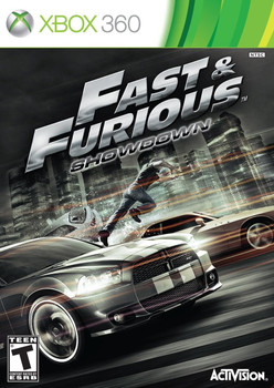 FAST AND THE FURIOUS: SHOWDOWN  - XBOX 360