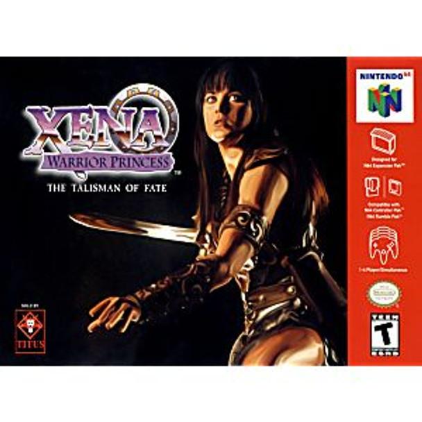 XENA WARRIOR PRINCESS  - N64