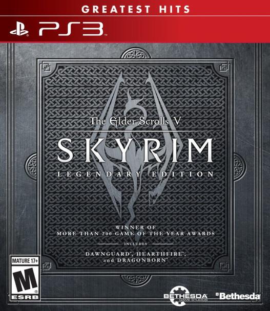 ELDER SCROLLS V: SKYRIM LEGENDARY EDITION - PS3
