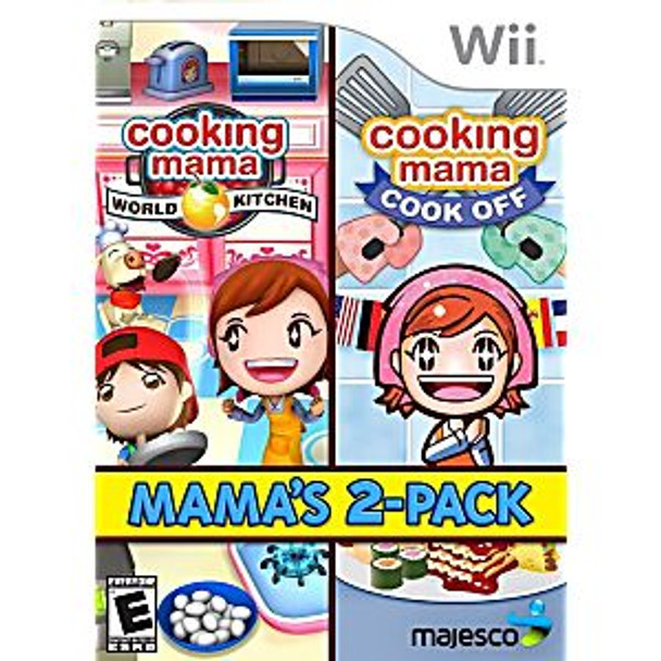 COOKING MAMA 2 PACK - WII - 096427017981