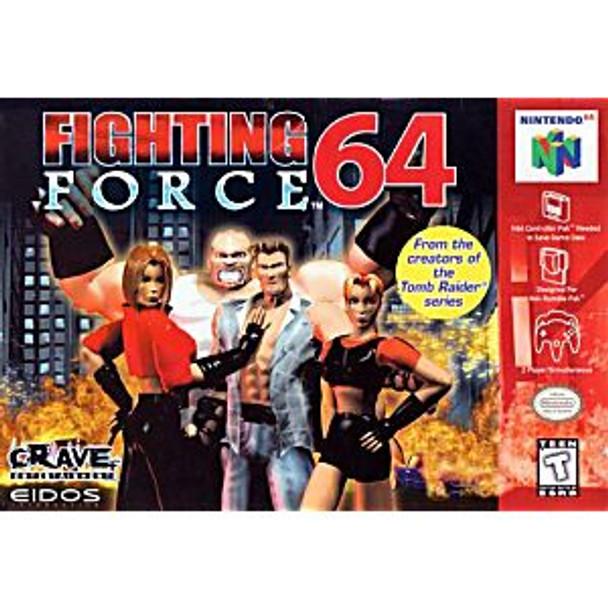 FIGHTING FORCE 64 - N64