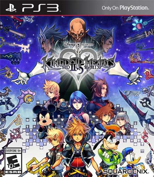 KINGDOM HEARTS 2.5 HD REM - PS3